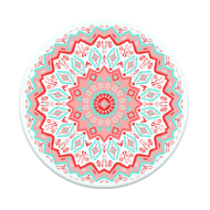Aztec-Mandala-Red